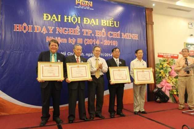 Lễ Kết nạp Unistar vào Hội Dạy Nghề TP Hồ Chí Minh
